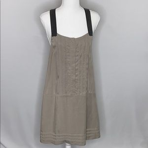 Rag & Bone Sleeveless Racer Back Shirt Dress